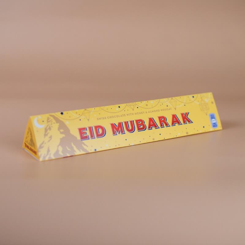 Personalised Eid Milk Toblerone