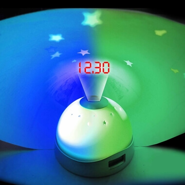 Star Projection Alarm Clock