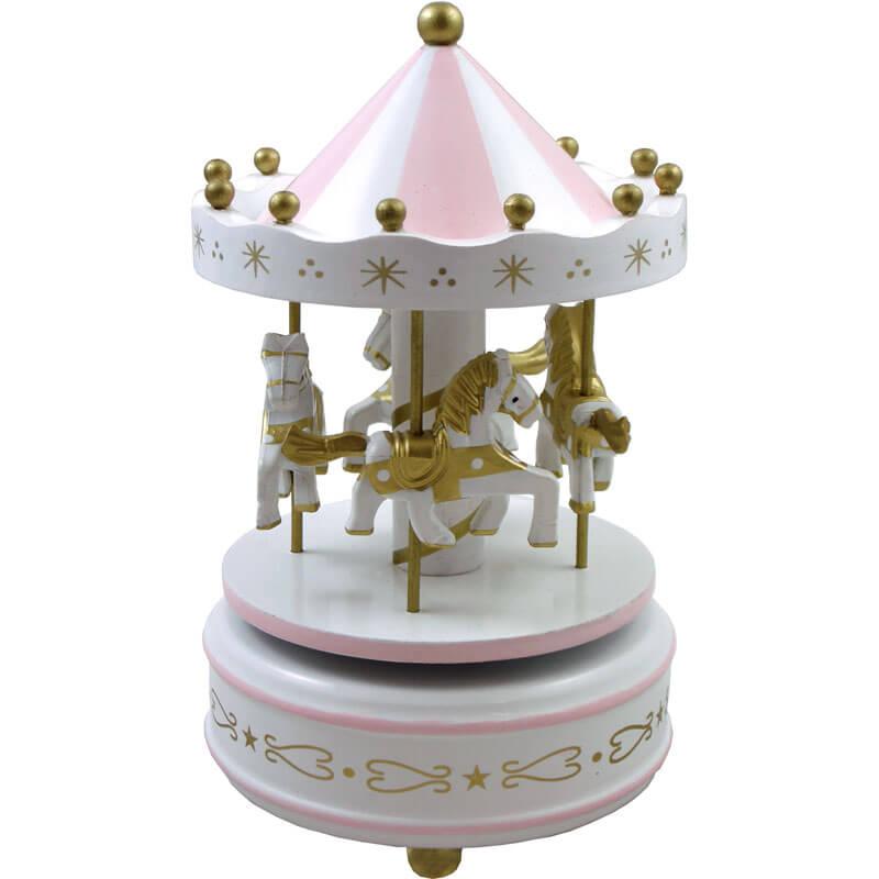 """Daydream"" - Pink Musical Carousel"