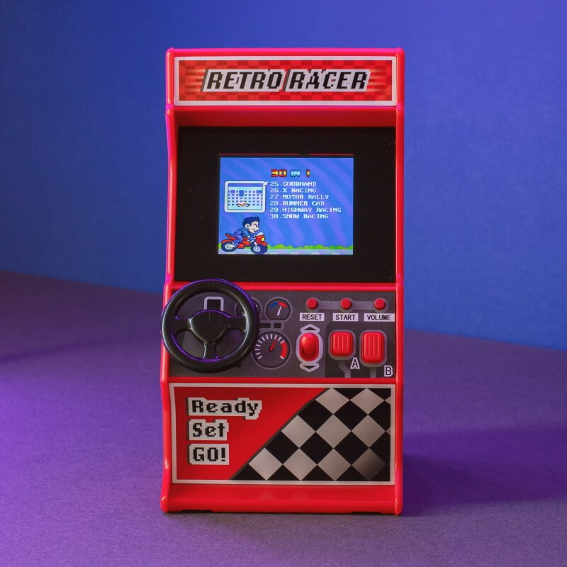 Retro Racing Game
