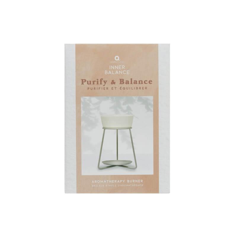 Purify And Balance Aromatherapy Oil Burner
