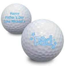 Personalised Dad Golf Balls