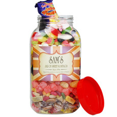 Personalised Traditional Sweet Jar