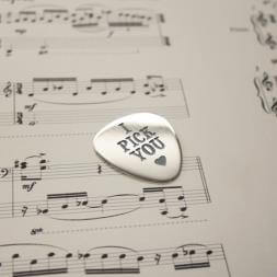 Personalised Plectrum