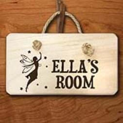 Personalised Fairy Door Sign