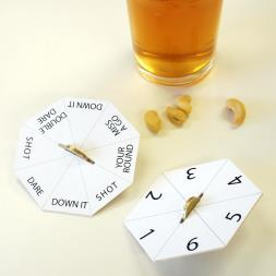 Bar Game Beer Mats