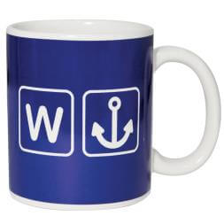 W Anchor Mug