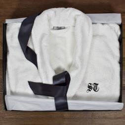 Personalised Luxury Egyptian Cotton Bathrobe