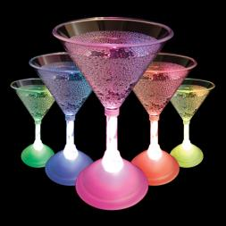 LED Colour Changing Cocktail Glass