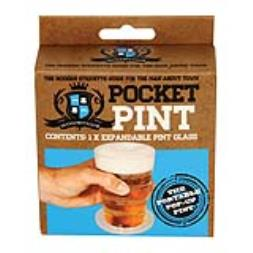 Pocket Pint - Collapsible Pint Glass