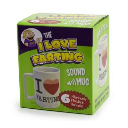 I Love Farting Mug With Sounds