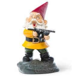 Angry Scarface Gnome