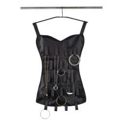 Little Black Corset - Jewellery Organiser