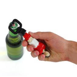 Foosball Bottle Opener - Red
