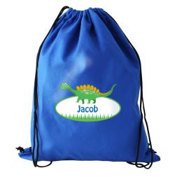 Personalised Dinosaur Swim Bag