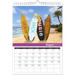 Personalised Family Calendar