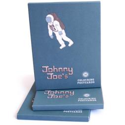 Johnny Joe's Colouring Postcards