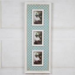 Casablanca Triple Photo Frame