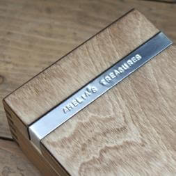 Personalised Wooden Trinket Box