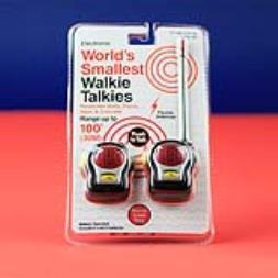 Worlds Smallest Walkie Talkies