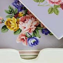 Classic Rose Coasters - Set Of 4