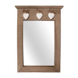 Wooden Portrait Mirror