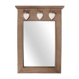 Wooden Portrait Mirror