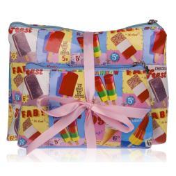 Ice Cream Cosmetic Bag Set