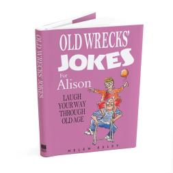 Personalised Old Wrecks Joke Book