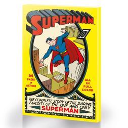 Superman No 1 Large Canvas