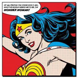 I'm Wonder Woman Canvas