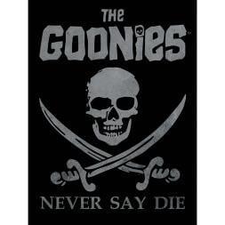 Goonies Never Say Die Canvas