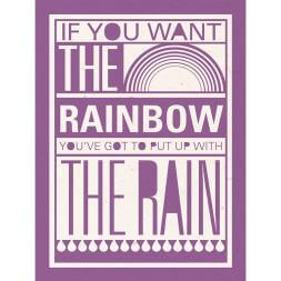 If You Want The Rainbow Canvas