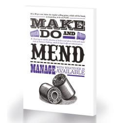 Make Do And Mend Canvas