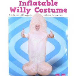 Inflatable Willy Costume