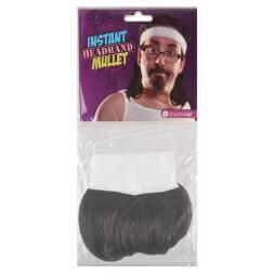 Instant Mullet Headband
