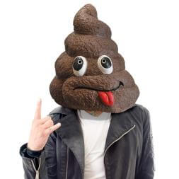 Doo Doo Head Mask