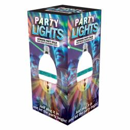 Party Lights Spinning Party Light Bulb