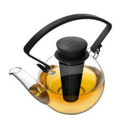 Glass Teapot With Detachable Infuser