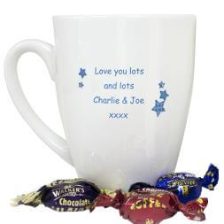 Personalised 'I Love My' Latte Mug