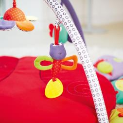 Mamas & Papas Lotty Light & Sound - Tummy Time Playmat & Gym