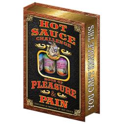 Hot Sauce Challenge Book of Pleasure And Pain