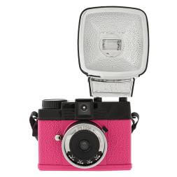 Lomography Diana Mini and Flash  En Rose Camera