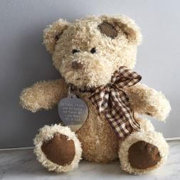 Personalised Teddy Bear in a Gift Tin