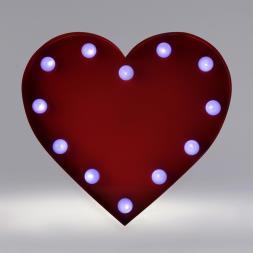 Carnival Love Heart