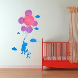 Balloon Night Light & Wall Sticker