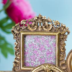 Gold Multi Photo Frame