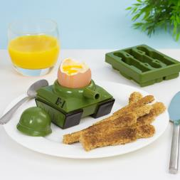 Egg-splode Egg Cup and Toast Cutter