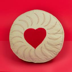 Jammy Dodger Cushion