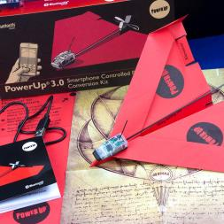 Power Up 3.0 Smartphone Controlled Paper Airplane